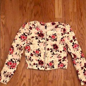 Floral Bomber Jacket!
